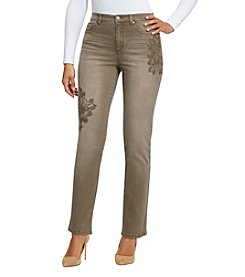 Gloria Vanderbilt® Amanda Embroidered Jeans