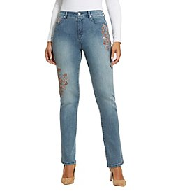 Gloria Vanderbilt® Embroidered Amanda Jeans