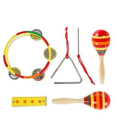 Hey! Play! Percussion Musical Instruments Toy Set