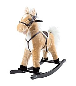 Happy Trails Rocking Horse Plush Animal