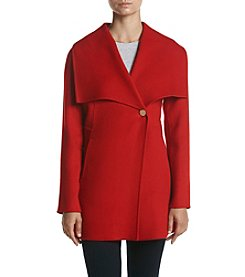 Laundry® Asymmetric Front Wool Coat