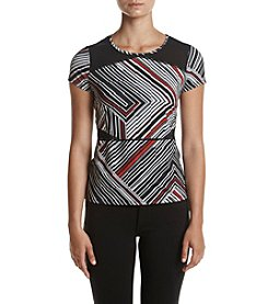 Ivanka Trump® Athleisure Color Block Tee