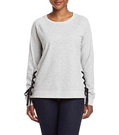 Exertek® Petites' Side Tie Sweatshirt