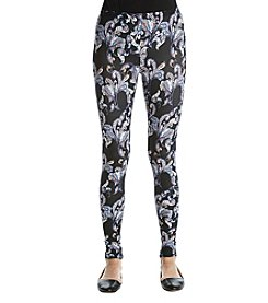 Pink Rose® Paisley Print Leggings
