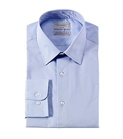 John Bartlett Statements Men's Flexible Collar Stretch Slim Fit Dress Shirt