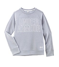 Under Armour® Girls' 4-6X Long Sleeve Favorite Fleece Top