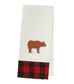Ruff Hewn Bear Plaid Kitchen Towel