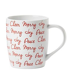 Living Quarters Holiday Verbiage Mug