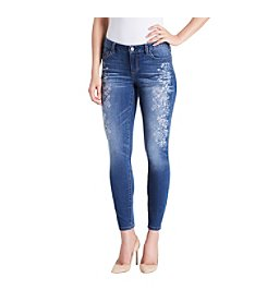 Vintage America Blues™ Boho Skinny Embroidered Jeans
