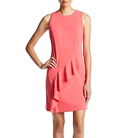 Ivanka Trump® Ruffle Shift Dress