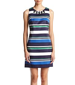 Vince Camuto® Striped Shift Dress