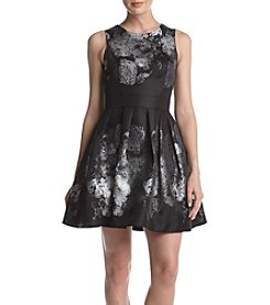 Betsy & Adam® Print Party Dress