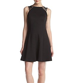 GUESS Fit And Flare Scuba Dress