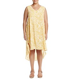 Cupio Plus Size Woven Tunic Dress