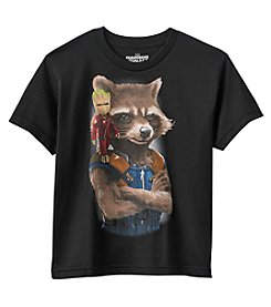 Marvel® Heroes Boys' 8-20 Guardians Of The Galaxy® Little Big League Shirt