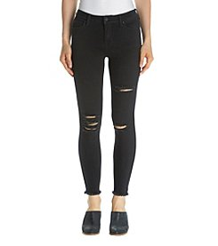 Celebrity Pink Fray Hem Ankle Jeans