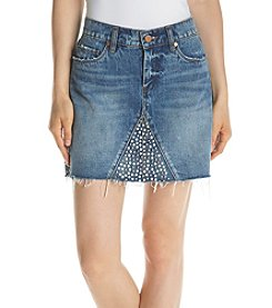 BLANKNYC® Studded Denim Skirt