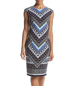 Vince Camuto® Extended Cap Bodycon Dress