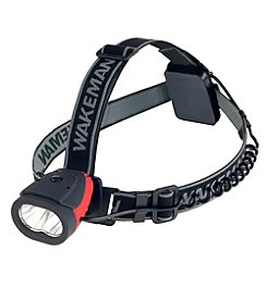 Wakeman LED Water Resistant Headlamp With 160 Lumens and 2 SMD