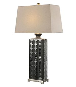 Uttermost Casale Aged Grey Table Lamp