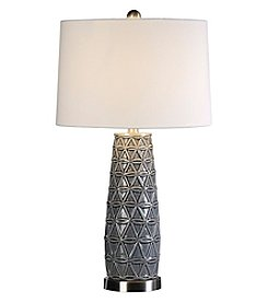 Uttermost Cortinada Stone Grey Lamp