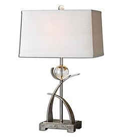 Uttermost Cortlandt Curved Metal Table Lamp