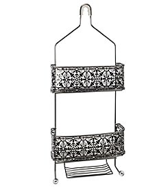 Taymor® Lace Shower Caddy with Acrylic Finials
