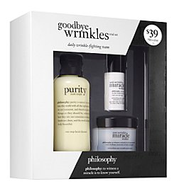 philosophy® 3-Piece Goodbye Wrinkles Trial Set