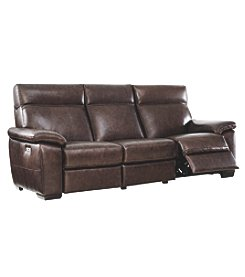 Natuzzi Editions Bond Reclining Sofa With Headrest