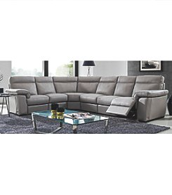 Natuzzi Editions® Daniele 4-Piece Sectional