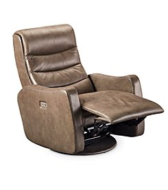 Lane® Lexi Power Swivel Glide Recliner With Power Headrest