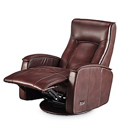 Lane® Julian Power Swivel Glide Recliner With Power Headrest