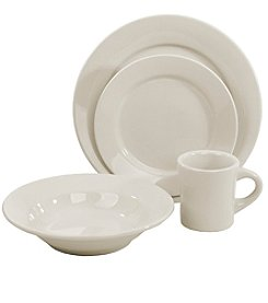 Oneida® Buffalo China 4-Piece Place Setting