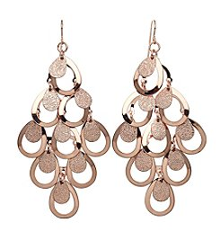 Relativity® Kite Teardrop Drop Earrings