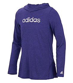 adidas® Girls' 2T-6X Hustle Your Bustle Climalite® Hoodie