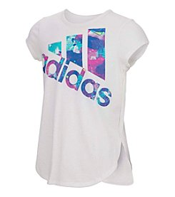 adidas® Girls' 2T-6X Short Sleeve All Star Tee