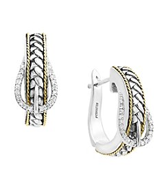 Effy® Buckle Hoop Earrings