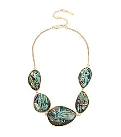 Kenneth Cole® Abalone Stone Frontal Necklace