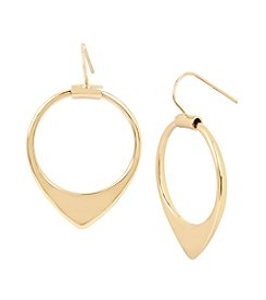 Kenneth Cole® Hoop Drop Earrings