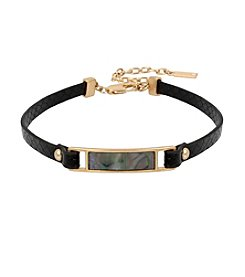 Kenneth Cole® Abalone Shell Choker Necklace