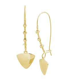 Kenneth Cole® Triangle Charm Drop Earrings