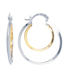 Athra Clutchless Hoop Boxed Earrings