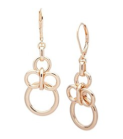 Anne Klein® Goldtone Multi Circle Drop Earrings