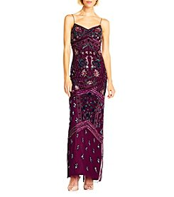 Adrianna Papell® Floral Bead Maxi Dress