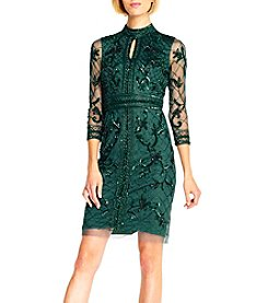 Adrianna Papell® Sequin Floral Dress