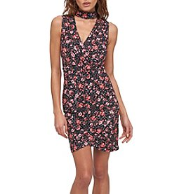 GUESS Floral Gig Sheath Dress