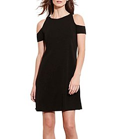 Lauren Ralph Lauren® Parisian Cold Shoulder Dress