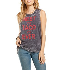 Chaser® Best Taco Ever Muscle Tee