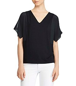 Lauren Ralph Lauren® Trudeska Cold Shoulder Top