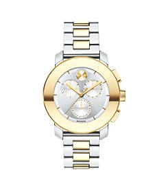 Movado® BOLD Women's Swiss Chronograph Two-Tone Bracelet Watch